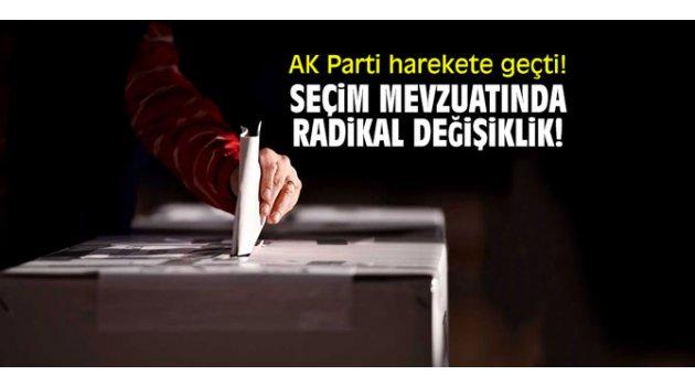 AK Parti harekete geçti! Seçim mevzuatında radikal değişiklik!