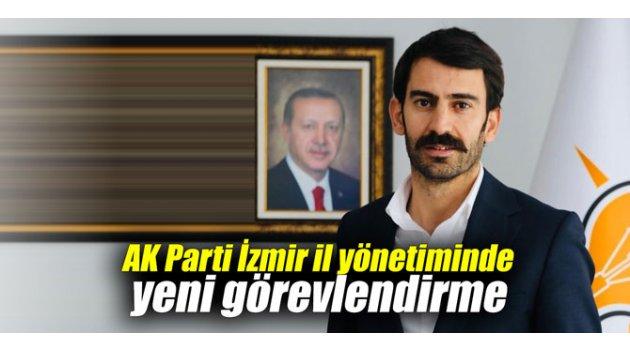 AK Parti İzmir il yönetiminde yeni görevlendirme