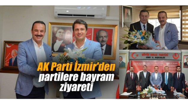 AK Parti İzmir'den partilere bayram ziyareti