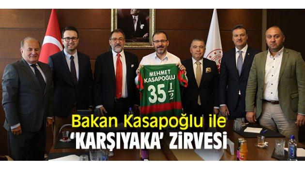 AK Parti Karşıyaka'dan Bakan Kasapoğlu'na ziyaret!
