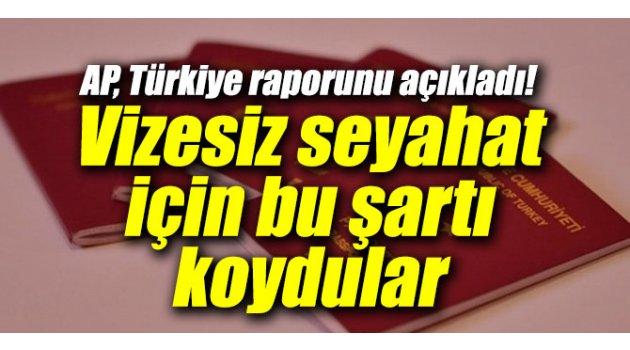 AP, Türkiye raporunu açıkladı! Vizesiz seyahat için bu şartı koydular