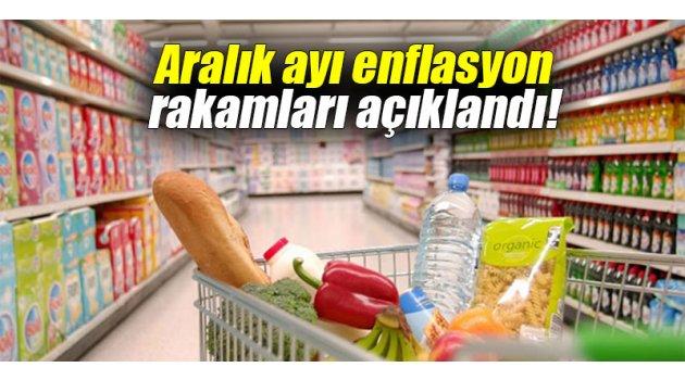 Aralık ayı enflasyon rakamları açıklandı!