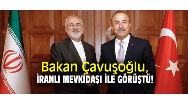 Bakan Çavuşoğlu, Cevad Zarif görüştü!