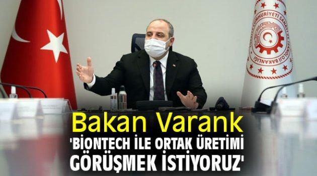 Bakan Varank'tan flaş BioNTech açıklaması