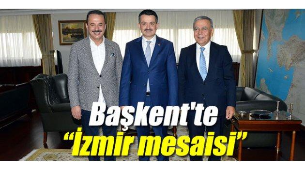 """Başkent'te """"İzmir mesaisi"""" başladı"""