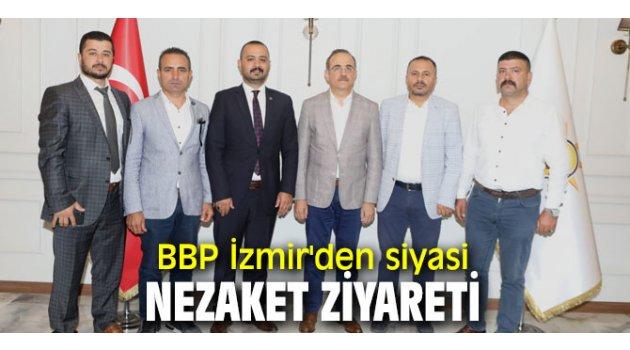 BBP İzmir'den AK Parti İzmir'e ziyaret