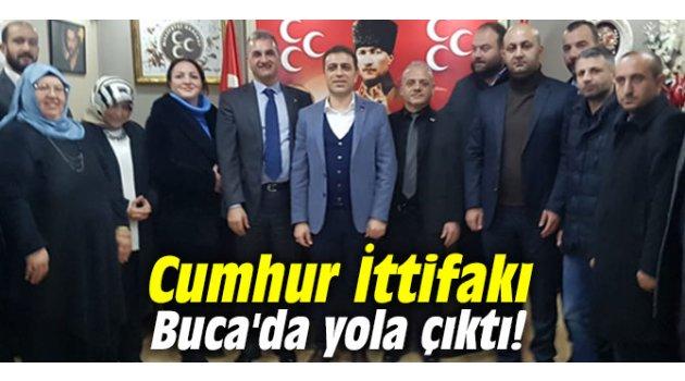 Cumhur İttifakı Buca'da yola çıktı!