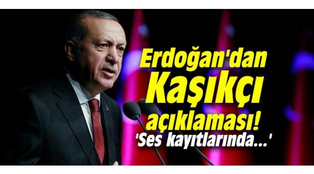 Cumhurbaşkanı Erdoğan'dan Kaşıkçı açıklaması! 'Ses kayıtlarında...'Kaynak: Cumhurbaşkanı Erdoğan'dan Kaşıkçı açıklaması! 'Ses kayıtlarında...'