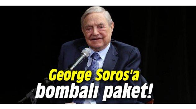 George Soros'a bombalı paket!