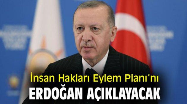 İnsan Hakları Eylem Planı'nı Cumhurbaşkanı Erdoğan açıklayacak