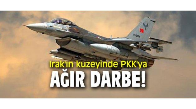 Irak'ın kuzeyinde PKK'ya ağır darbe!