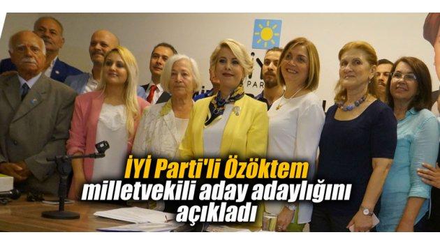 İYİ Parti'li Özöktem milletvekili aday adaylığını açıkladı