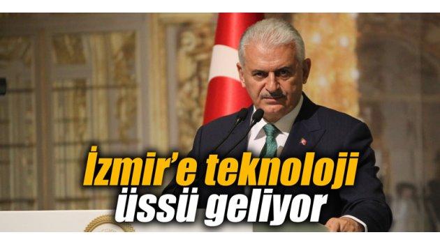 İzmir'e teknoloji üssü geliyor