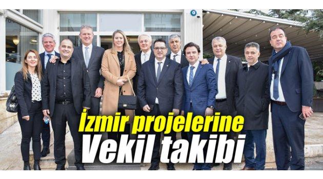 İzmir projelerine Vekil takibi