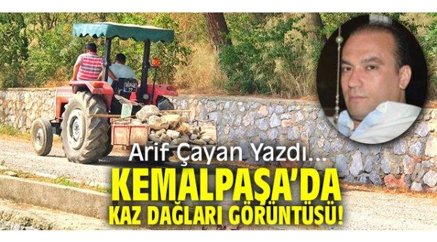 Kemalpaşa'da Kaz Dağları görüntüsü!