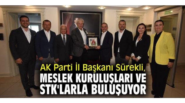 AK Parti İl Başkanı Sürekli, meslek kuruluşları ve STK'larla buluşuyor