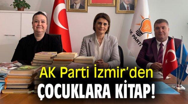 AK Parti İzmir'den çocuklara kitap!