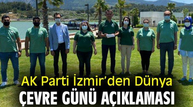 AK Parti İzmir'den Dünya Çevre Günü mesajı