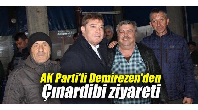 AK Parti'li Demirezen'den Çınardibi ziyareti