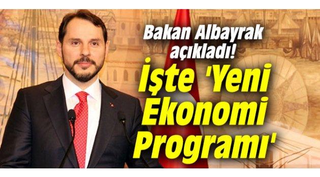 Bakan Albayrak açıkladı! İşte 'Yeni Ekonomi Programı'