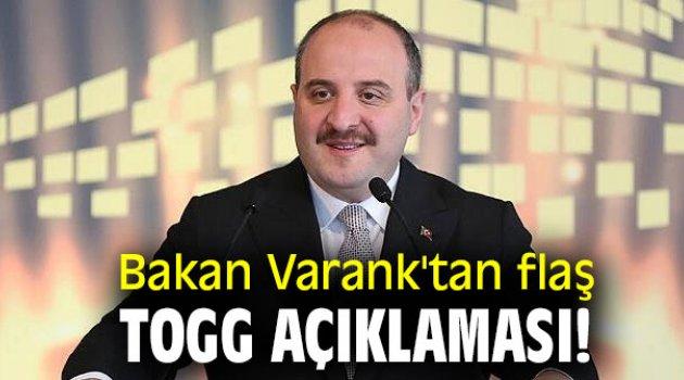 Bakan Varank'tan flaş TOGG açıklaması!
