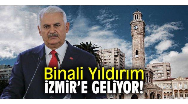 Binali Yıldırım iki günlük program için İzmir'e gelecek