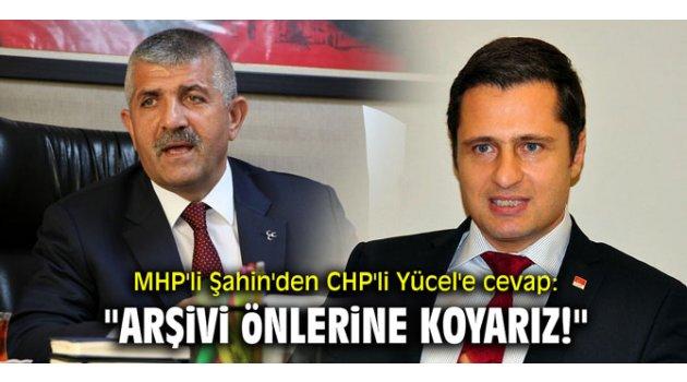 """""""CHP-HDP arşivini önlerine koyarız!"""""""