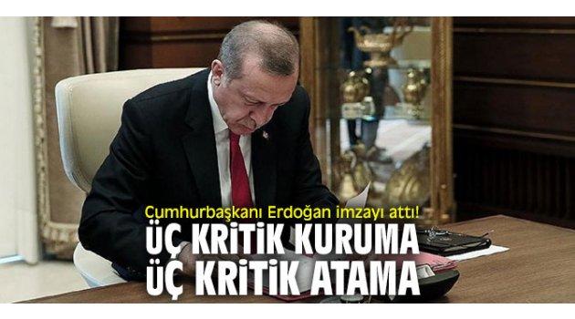 Cumhurbaşkanı Erdoğan imzayı attı!