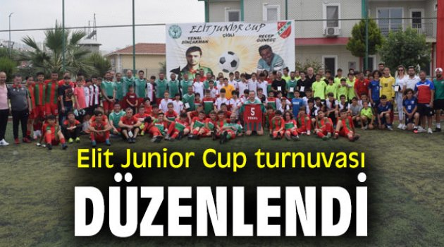 Elit Junior Cup turnuvası düzenlendi