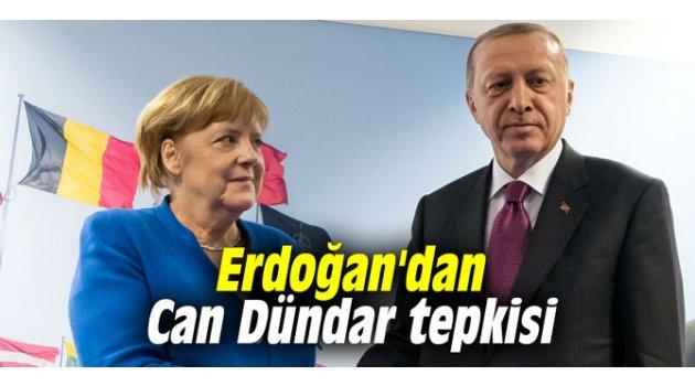 Erdoğan'dan Can Dündar tepkisi