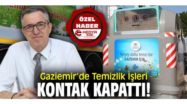 Gaziemir'de Temizlik İşleri Kontak Kapattı!
