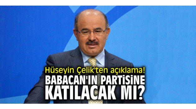 Hüseyin Çelik'ten açıklama! Babacan'ın partisine katılacak mı?