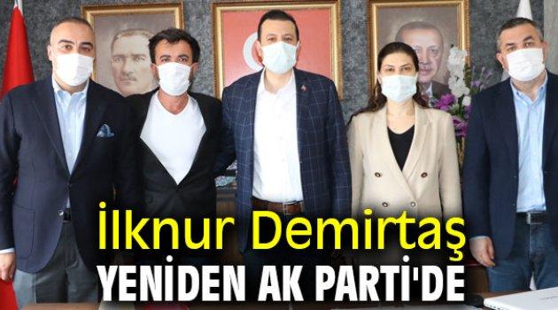 İlknur Demirtaş yeniden AK Parti'de