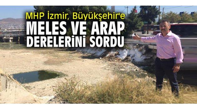 MHP İzmir, Büyükşehir'e Meles ve Arap derelerini sordu