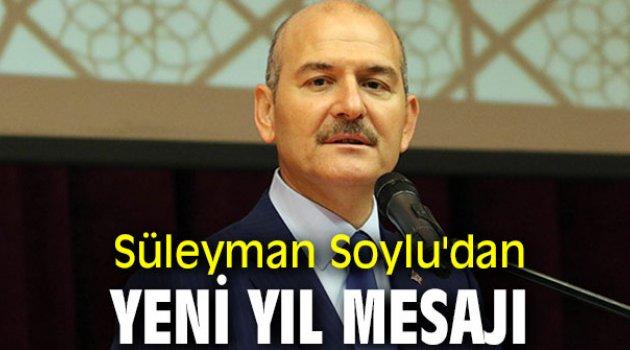 Süleyman Soylu'dan yeni yıl mesajı
