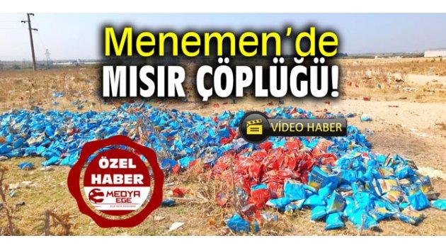 Menemen'de Mısır çöplüğü!