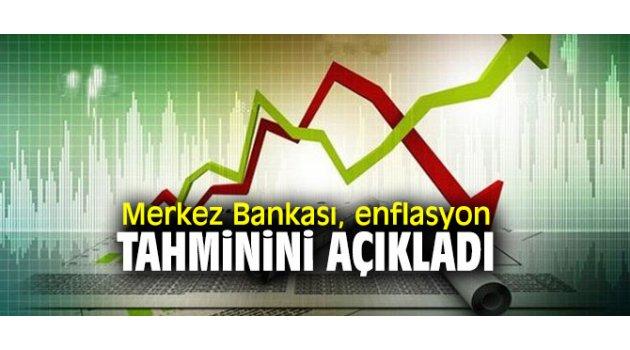 Merkez Bankası, enflasyon tahminini açıkladı