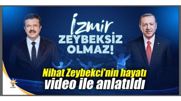 Nihat Zeybekci'nin hayatı video ile anlatıldı
