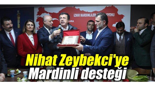 Nihat Zeybekci'ye Mardinli desteği