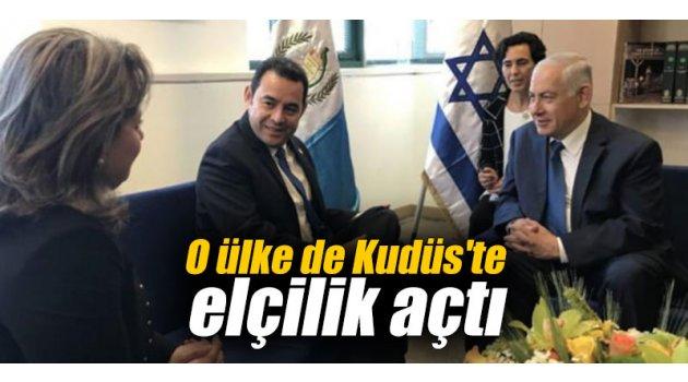 O ülke de Kudüs'te elçilik açtı