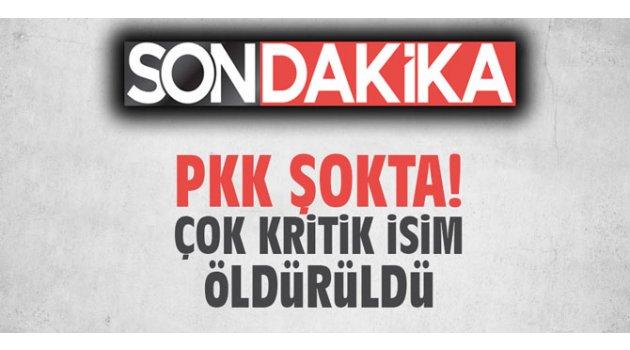 PKK şokta! Çok kritik isim öldürüldü