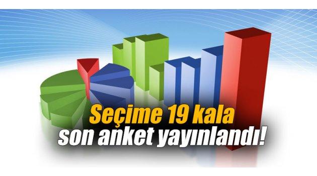 Seçime 19 kala son anket yayınlandı!