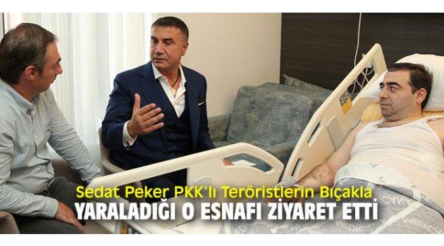 Sedat Peker, Durmuş Karaçam'ı ziyaret etti!