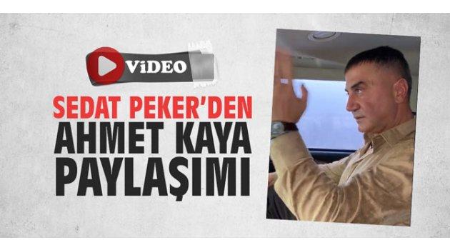 Sedat Peker'den Ahmet Kaya paylaşımı