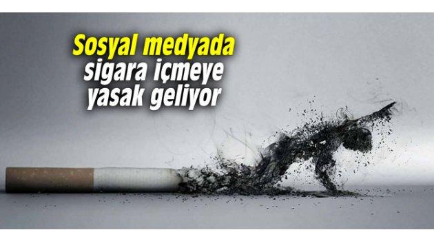 Sosyal medyada sigara içmeye yasak geliyor