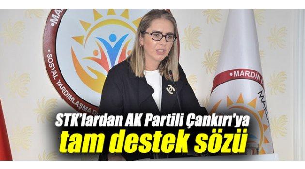 STK'lardan AK Partili Çankırı'ya tam destek sözü