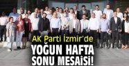 AK Parti İzmir'de yoğun hafta sonu mesaisi!