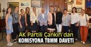 AK Partili Çankırı'dan komisyona TBMM daveti