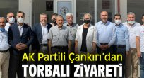 AK Partili Çankırı'dan Torbalı ziyareti