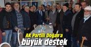 AK Partili Doğan'a büyük destek